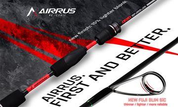 Immagine di Airrus Aria Giant & Stream Fuji Slim Sic rods 2 pcs